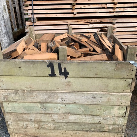 Firewood Bin 14