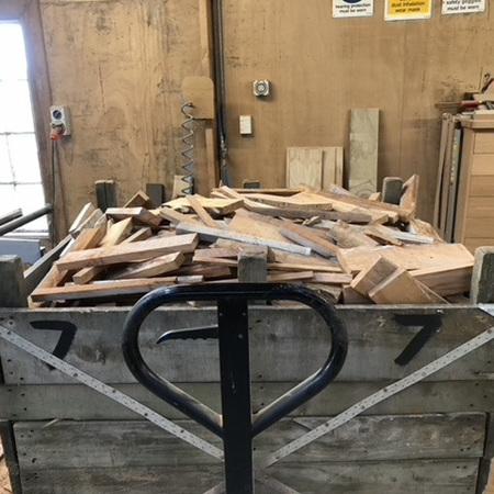 Firewood Bin 7