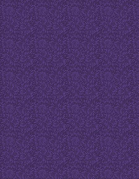 Firework Blooms Darkest Purple 39135-669
