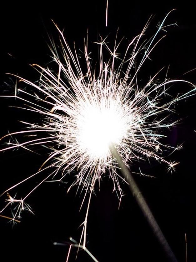 Lauren Alexander - Fireworks Angel for Guy Fawkes