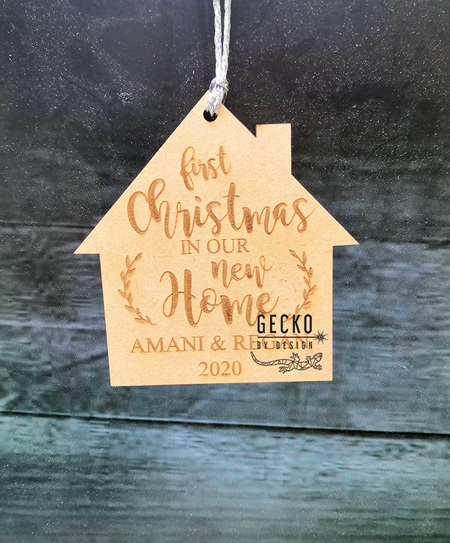 First Christmas in New House