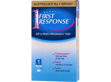 FIRST RESPONSE DIP & READ 1 TEST