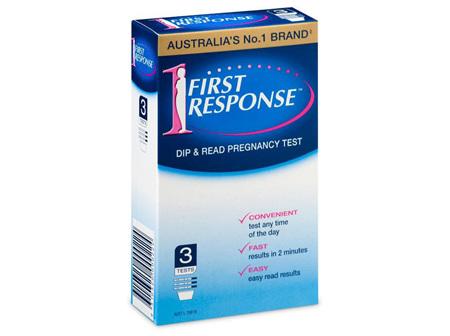 FIRST RESPONSE DIP & READ 3 TESTS