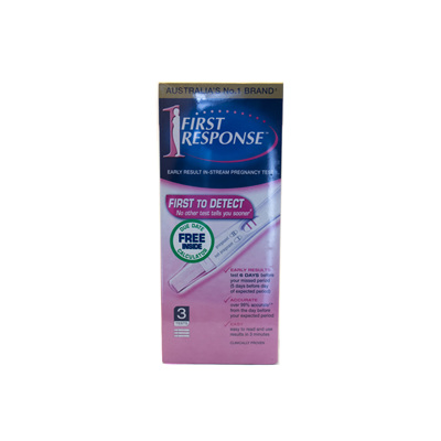 First Response In-Stream Pregnancy Test 3-Pack