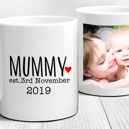 First Time Mummy Established Personalised Mug