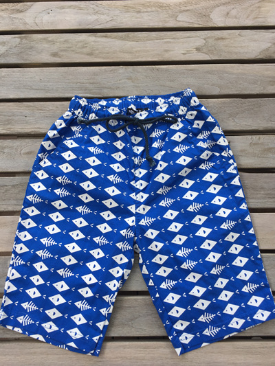 fish board shorts