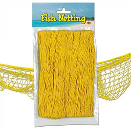 Fish Netting - Yellow  Colour