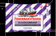 Fisherman's Friend Blackcurrant and Menthol Lozenges 25g