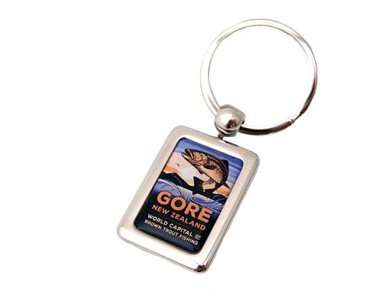 Fishing Key Ring