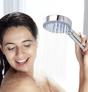 Five Fuction Round Shower Head