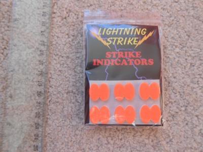 Fl. Orange Stick On Indicators