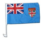 Flag Cloth Car Fiji 300x450mm