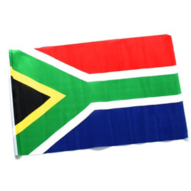 Flag Fabric Large South African 90 x 180cm