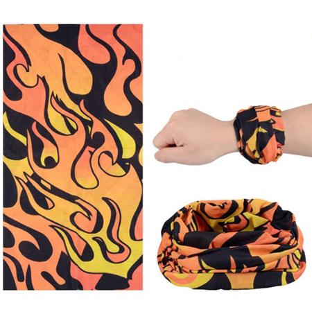 Flame Half Mask Scarf