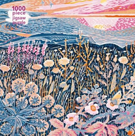 Flame Tree Studio 1000 Piece Jigsaw  Puzzle: Annie Soudain: Midsummer Morning