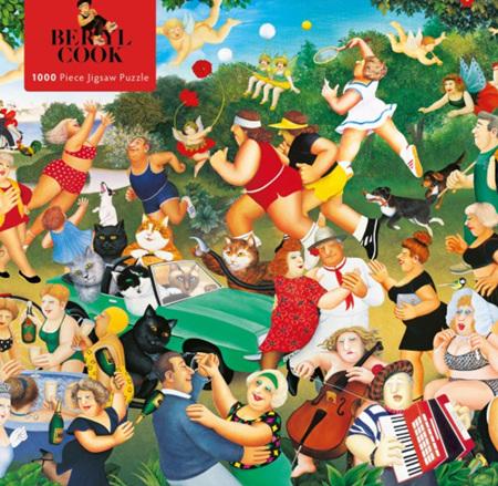 Flame Tree Studio 1000 Piece Jigsaw  Puzzle: Beryl Cook - Good Times