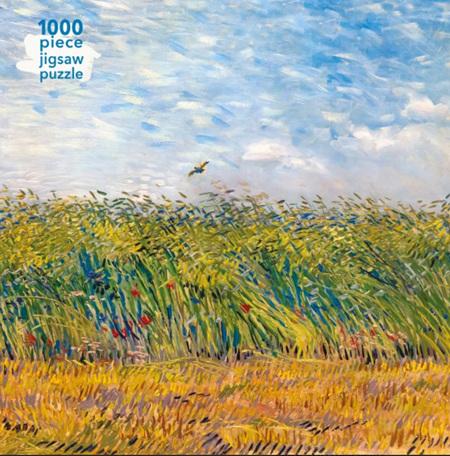 Flame Tree Studio 1000 Piece Jigsaw  Puzzle: Van Gogh - Wheatfield & Lark