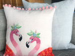 Flamingo Needlepoint kit