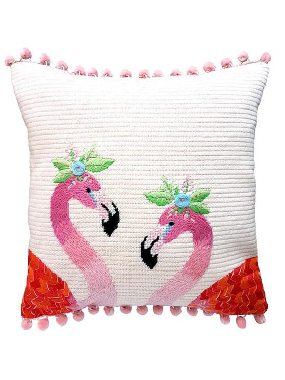 flamingo needlepoint kit