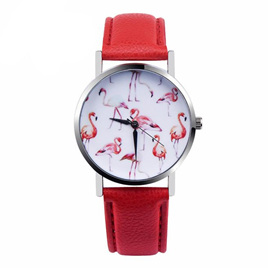 Flamingo Watch - Red