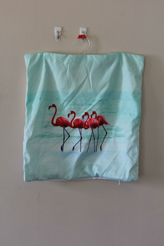 Flamingoes! Cushion Cover