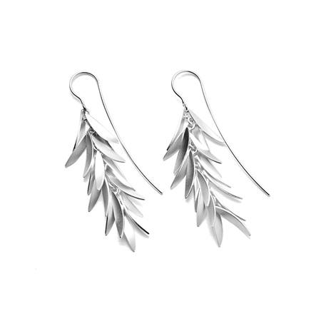 Flared Tassle Earrings