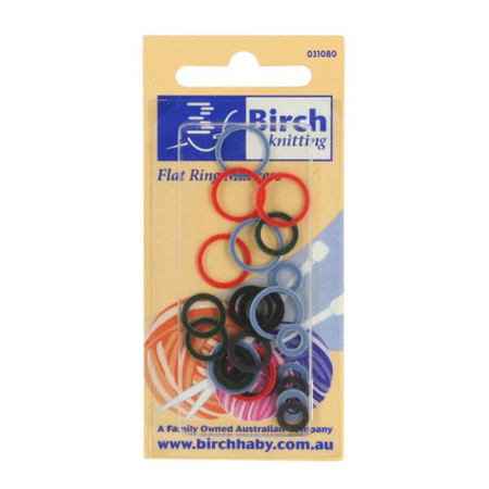 Flat Ring Markers Small & Large 031080