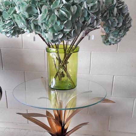 Flax Leaf Side Table - $400