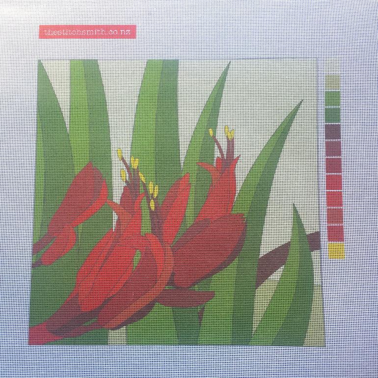 flax needlepoint canvas