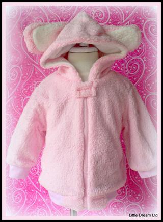 """""""Fleecy Baby Bunny"""""""