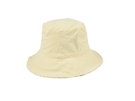 Fleur Frayed Bucket Cream