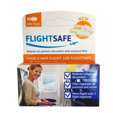 FLIGHTSAFE ADULT EAR PLUGS