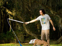 Flirt pole dog excercise toy for high energy active dogs