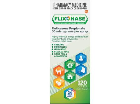 FLIXONASE Nasal Spray 120d W/G box