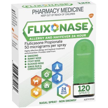 FLIXONASE N/SPRY 24HR 120
