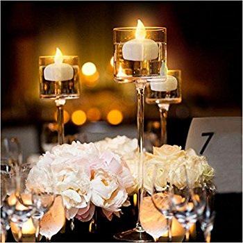 Floating LED Tea Lights - Cool White or Warm White