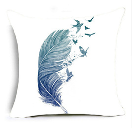 Flock of a Feather Cushion Cover