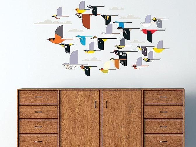 Flock of Birds Decals