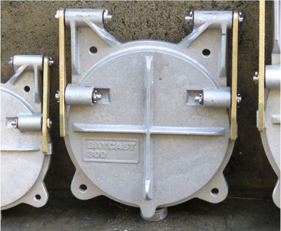 floodgate flap valve tide gate 300