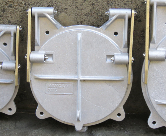 floodgate flap valve tide gate 375