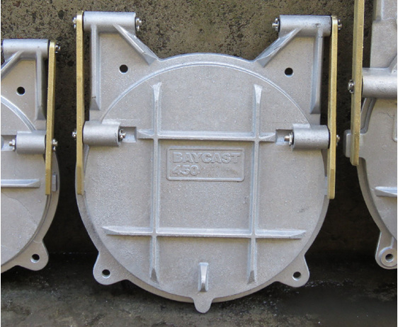 floodgate flap valve tide gate 450