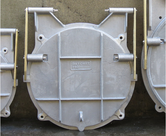 floodgate flap valve tide gate 750
