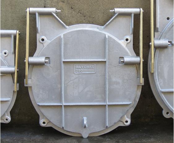 floodgate flap valve tide gate 750