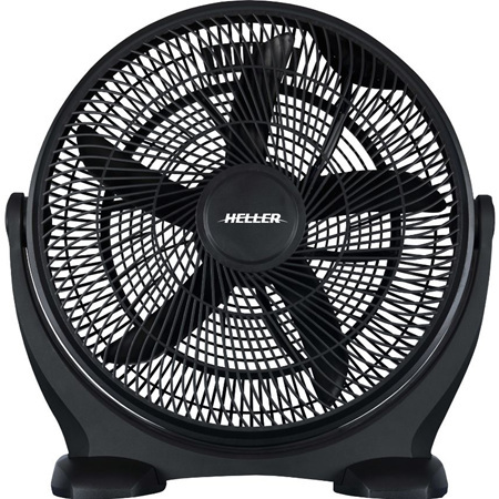 Floor Fan 50cm Black adjustable