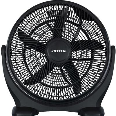 Floor Fan 50cm Black adjustable