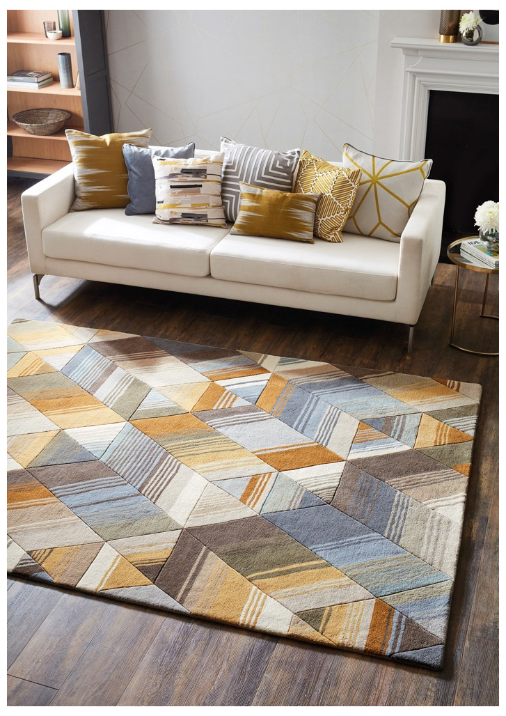 Floor Rug Arccos New Zealand bloomdesigns
