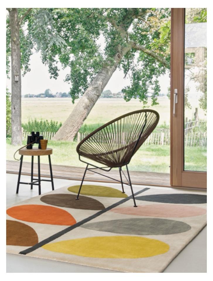 Floor Rug Multi Stem Giant New Zealand bloomdesigns