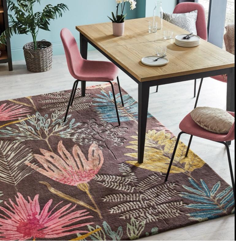 Floor Rug Yasuni New Zealand bloomdesigns