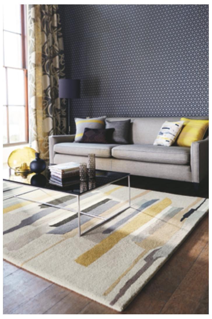 Floor Rug Zeal New Zealand bloomdesigns