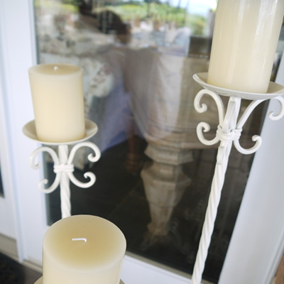 Floor Standing Candle Holder Set